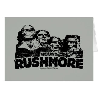 Mount Rushmore Note Card