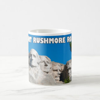 Mount Rushmore Rocks! Mount Rushmore, South Dakota Coffee Mugs