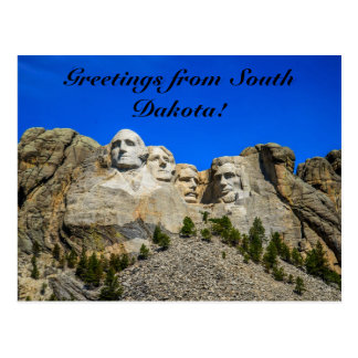 Mount Rushmore, South Dakota Postcard