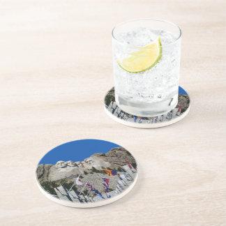 Mount Rushmore South Dakota Souvenir Beverage Coaster