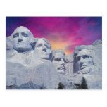 Mount Rushmore, South Dakota, USA Presidents Post Cards
