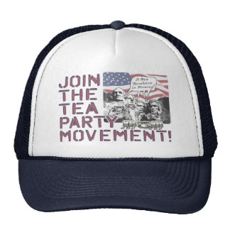 Mount Rushmore Tea Party Gear Cap