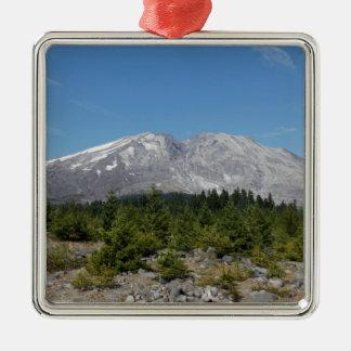 Mount Saint Helens wide angle early summer Christmas Ornament