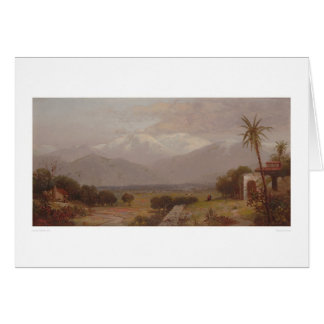 Mount San Bernardino from the Mission Ruins (1232) Greeting Card