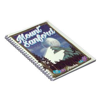 Mount Sanford Alaska Notebook