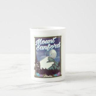 Mount Sanford Alaska Tea Cup