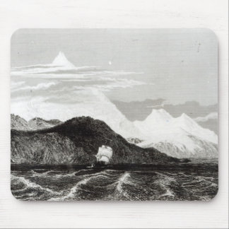Mount Sarmiento, engraved by Thomas Landseer Mouse Mat