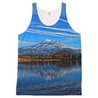 MOUNT SHASTA All-Over PRINT TANK TOP