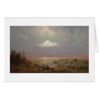 Mount Shasta and Shastina Lake (1151) Greeting Card