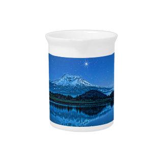 MOUNT SHASTA BY STARLIGHT BEVERAGE PITCHER