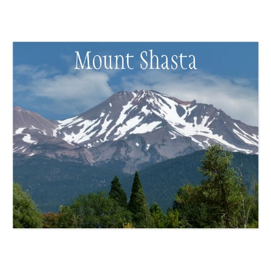 Mount Shasta California Postcard