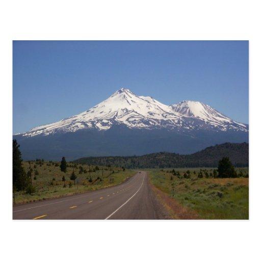 Mount Shasta, California Postcard