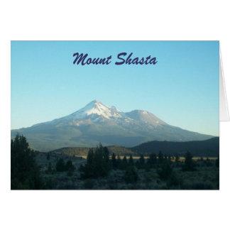 Mount Shasta Card