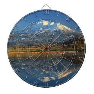 MOUNT SHASTA REFLECTED DART BOARD