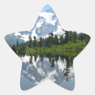 Mount Shuksan Star Sticker