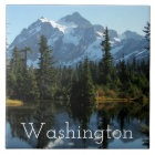 Mount Shuksan, Washington Photo Tile