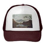 Mount Snowdon From Llyn Nantlle Seen By Wilson Ric Trucker Hat