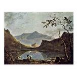 Mount Snowdon From Llyn Nantlle Seen By Wilson Ric Postcard