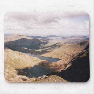 Mount Snowdon Mouse Pad