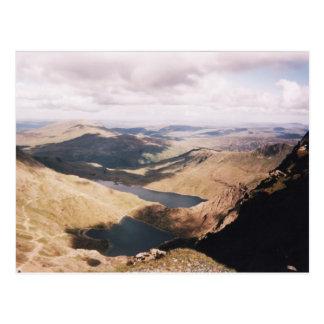 Mount Snowdon Postcard