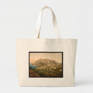 Mount Solaro, Capri Island Jumbo Tote Bag