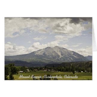Mount Sopris Note Card