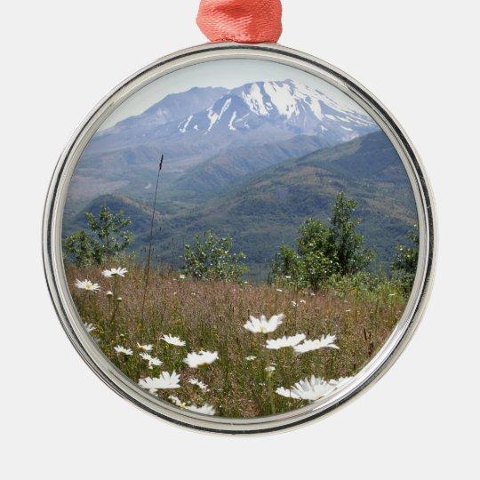 Mount St. Helens Christmas Ornament