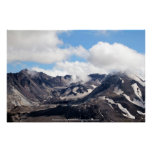 Mount St Helens lava dome 2 Poster
