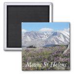 Mount St Helens Refrigerator Magnet