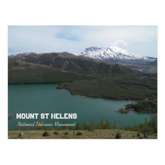 Mount St Helens Volcanic Monument Photo Postcard