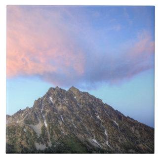 Mount Stuart, at sunset Tile