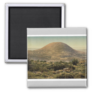 Mount Tabor, Holy Land, (i.e. Israel) magnificent Square Magnet