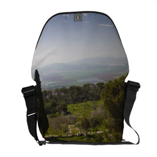 Mount Tabor, site of biblical transfiguration Courier Bag