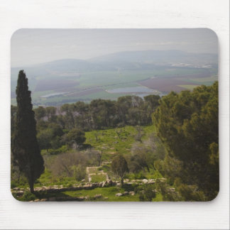 Mount Tabor, site of biblical transfiguration Mouse Mat