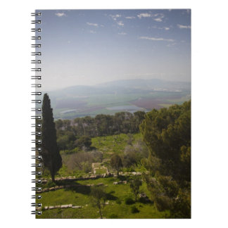Mount Tabor, site of biblical transfiguration Spiral Notebook