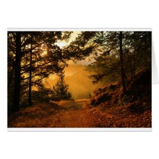 Mount Tam at Sunrise Card