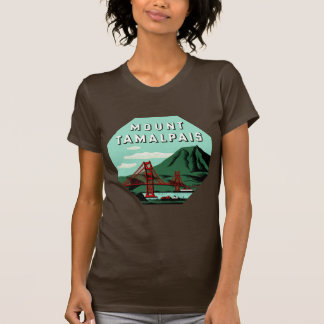 Mount Tamalpais California T-Shirt