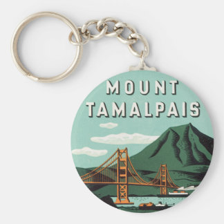 Mount Tamalpais Key Ring