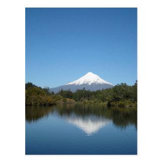 Mount Taranaki Postcard