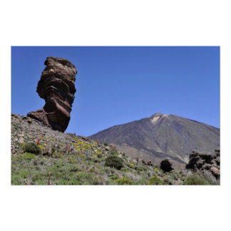 Mount Teide at Canary islands Poster