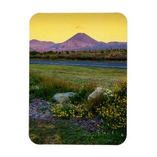 Mount Tongariro, New Zealand Rectangular Photo Magnet
