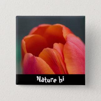 mount tulip 15 cm square badge