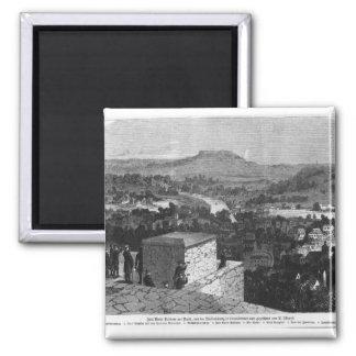 Mount Valerien seen from Louveciennes Magnet