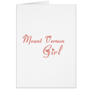 Mount Vernon Girl tee shirts Cards