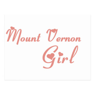 Mount Vernon Girl tee shirts Postcard