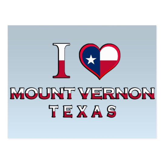 Mount Vernon, Texas Postcard