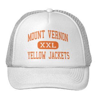 Mount Vernon - Yellow Jackets - Mount Vernon Trucker Hats