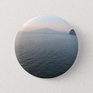Mount Vesuvius 6 Cm Round Badge