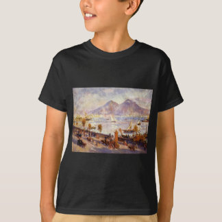 Mount Vesuvius in the Morning by Pierre-Auguste T-Shirt