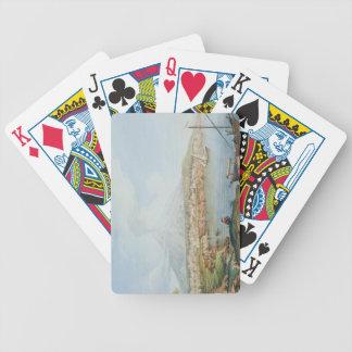 Mount Vesuvius, plate 36 from 'Campi Phlegraei: Ob Poker Deck